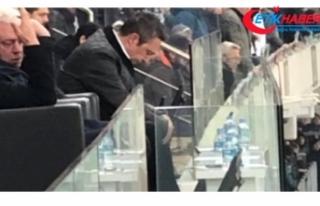 Fenerbahçe Başkanı Ali Koç, Bursaspor Maçında...