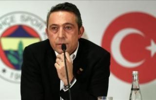 Fenerbahçe Kulübü Başkanı Ali Koç: Buradayız,...