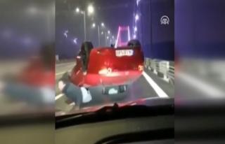 FSM'de makas atan trafik kazasındaki sürücünün...
