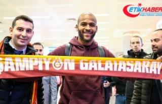 Galatasaray'ın yeni transferi Marcao İstanbul'a...