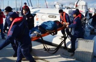 Gemide kalp krizi geçiren makine personeli öldü