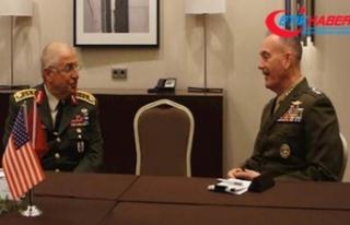 Genelkurmay Başkanı Güler ile ABD'li mevkidaşı...