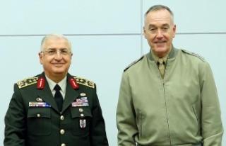 Genelkurmay Başkanı Güler, ABD'li mevkidaşıyla...