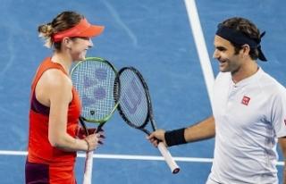 Hopman Kupası'nda şampiyon Federer ve Bencic