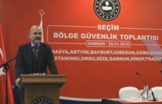 İçişleri Bakanı Soylu: Seçim sürecinde belli...