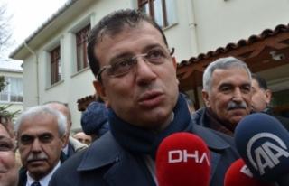 İBB Başkanı Ekrem İmamoğlu'nun Kovid-19...
