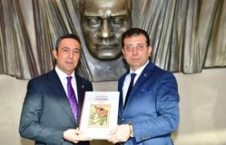 İmamoğlu Fenerbahçe Spor Kulübü Başkanı Ali...