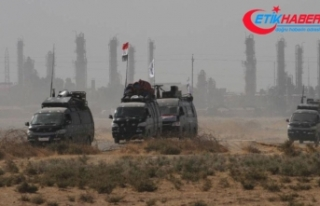 Irak 61'inci Tugay Özel Kuvvetler birimi Kerkük'e...
