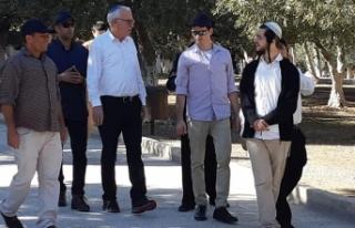 İsrail Tarım Bakanı'ndan Mescid-i Aksa'ya...