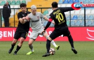 İstanbul'da 4 gollü beraberlik