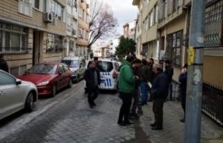 Kadıköy'de 'ters duruyor' diye aracı...
