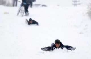 Nevşehir'de eğitime kar engeli