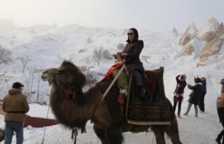 Kapadokya'da yeni yıl yoğunluğu