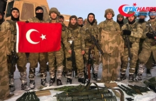Komandolar Hakurk bölgesinde operasyonda