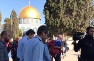 Kudüs'ün işgaline katılan İsrail askerlerinden...