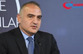 Kültür ve Turizm Bakanı Ersoy: Yasa önerdiğimiz...