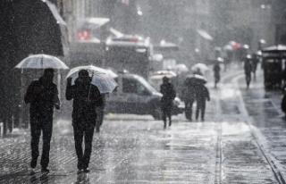 Kuvvetli fırtına ve yağış uyarısı