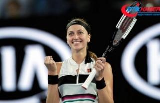 Kvitova Avustralya Açık'ta yarı finalde