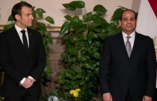 Macron'dan Sisi'ye 'milyar avroluk'...