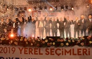 Malatya'da 'Cumhur İttifakı' adayları...