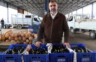 Marketlerin 'patlıcan' kararı fiyatı...