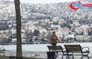 Marmara'da sıcaklık mevsim normallerinin altında