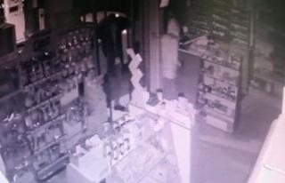 Maskeli hırsızlar, 100 saatlik kamera görüntüleri...