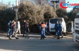 Mersin'de askeri araç kaza yaptı: 4'ü asker...
