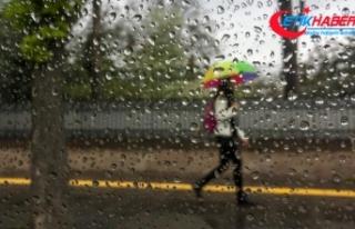 Meteorolojiden Marmara için kuvvetli yağış uyarısı