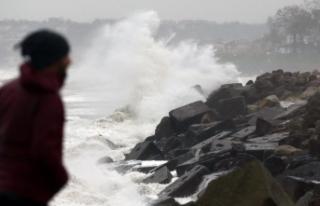 Meteorolojiden iki bölge için fırtına uyarısı