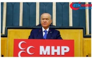 MHP Lideri Bahçeli'den Trump'a: Senin doların...