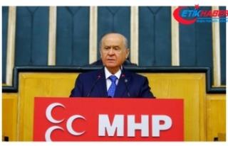 MHP Lideri Bahçeli: Ya beka, ya da bela. Ortası...