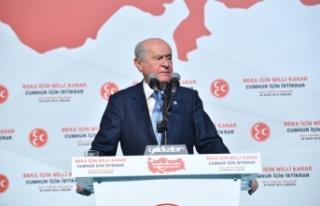 MHP Lideri Bahçeli: Biz Milliyetçi-Ülkücü Hareketiz,...