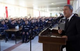Milli Savunma Bakanı Akar: TSK zamanı geldiğinde...