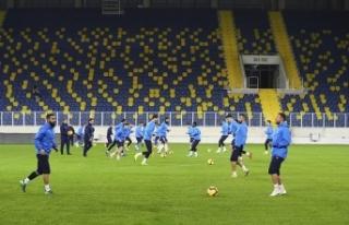 MKE Ankaragücü Eryaman Stadı'nda çalıştı