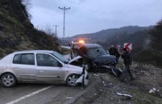 Ordu'da trafik kazası: 1 ölü, 7 yaralı