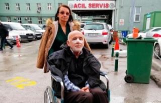 Özel halk otobüsü şoförü, yaşlı kadına tokat...