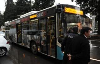 Özel halk otobüsünde 'taciz' kavgası:...