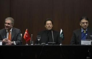 Pakistan Başbakanı Han DEİK temsilcileriyle bir...