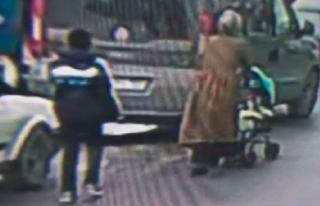 Polis bu hırsızın peşinde! Bebek arabalı kadınları...