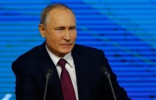 Rusya Devlet Başkanı Putin: Türk Akımı'nın...