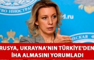 Rusya, Ukrayna'nın Türkiye'den insansız...