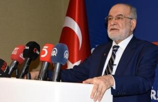 Saadet Partisi Genel Başkanı Karamollaoğlu: S400...