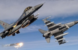 Irak'ın kuzeyinde terör hedefleri imha edildi
