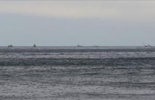 Samsun açıklarında batan gemide kaybolan 2 kişi...