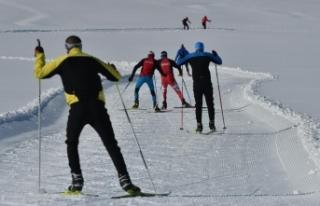 Sarıkamış, Avrupa Kayakla Oryantiring Şampiyonası'na...