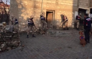Siirt'teki terör operasyonunda 5 gözaltı