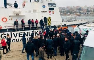 Sinop'ta kayıp balıkçının cansız bedenine...