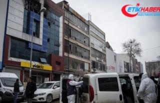 Siteler'de 5 Suriyelinin öldüğü yangınla...