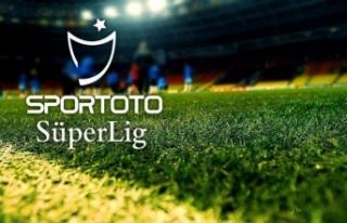 Süper Lig'de 3 haftalık maç programı belli...